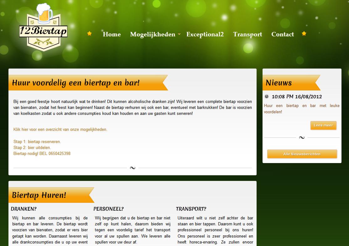 Huur voordelig een biertap op 12biertap.nl!