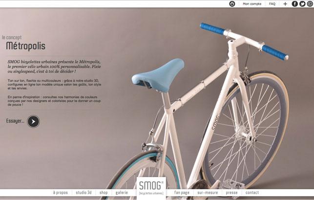 SMOG Bicyclettes urbaines