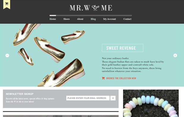 Mr w & me shoes