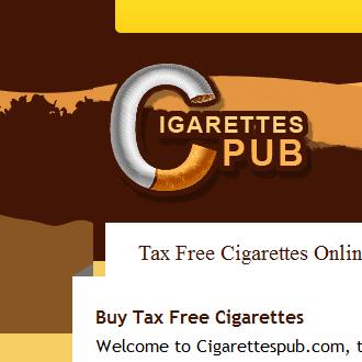Tax Free cigarettes