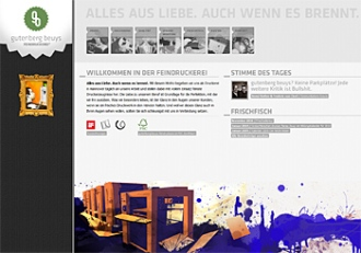 Gutenberg Beuys Feindruckerei