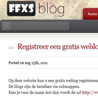 Gratis blog op FFXS.be, Kladderen.nl