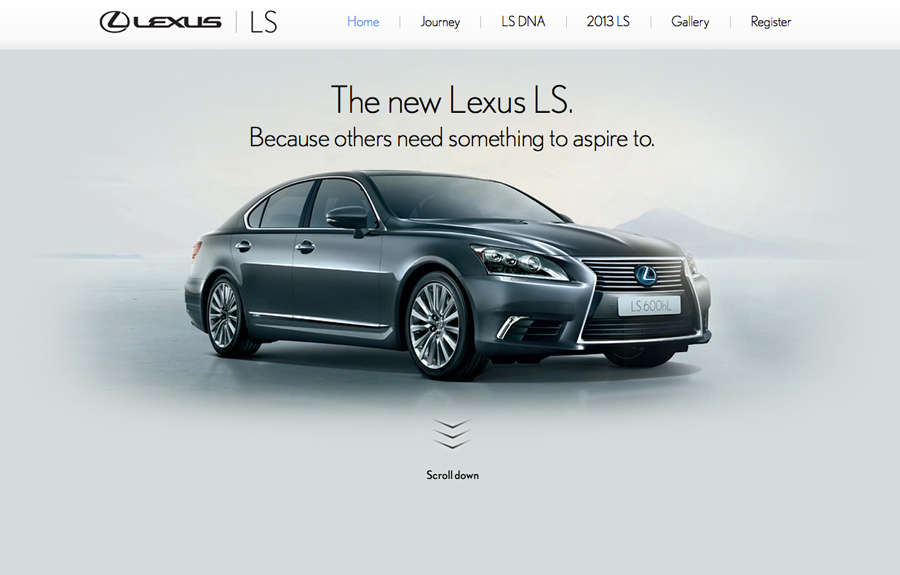 Lexus | The New 2013 LS