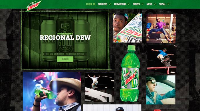 The New MountainDew.com
