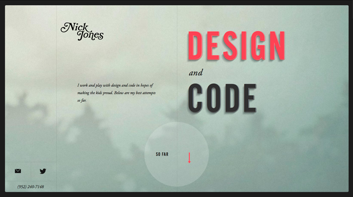 Nick Jones / Design + Code