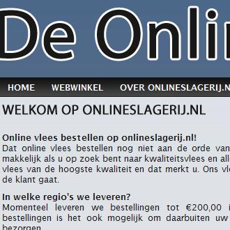 De Online Slagerij