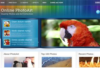 Online PhotoArt – Business & Portfolio Theme
