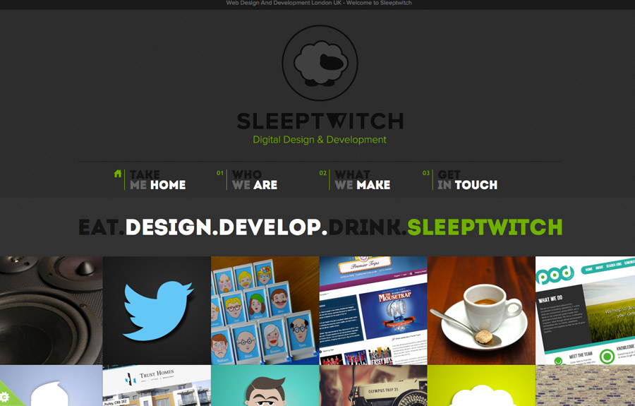 Sleeptwitch Digital Design and Development
