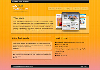 XHTML Web Design